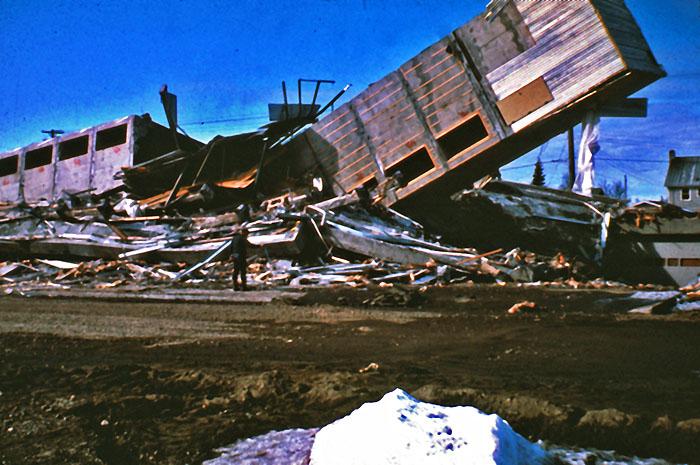 Alaska Karfreitags Erdbeben 1964 50 Jahre