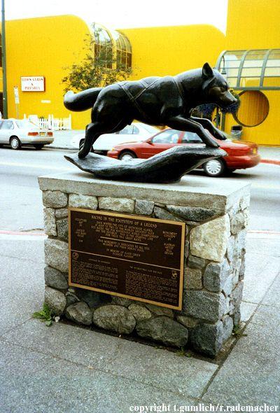 Iditarod Denkmal in Anchorage (c) RNR.de